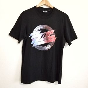 NWT ZZ Top Graphic Band T Shirt Large